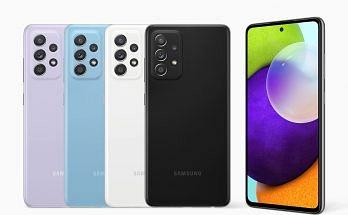 Samsung Galaxy A52 5G India