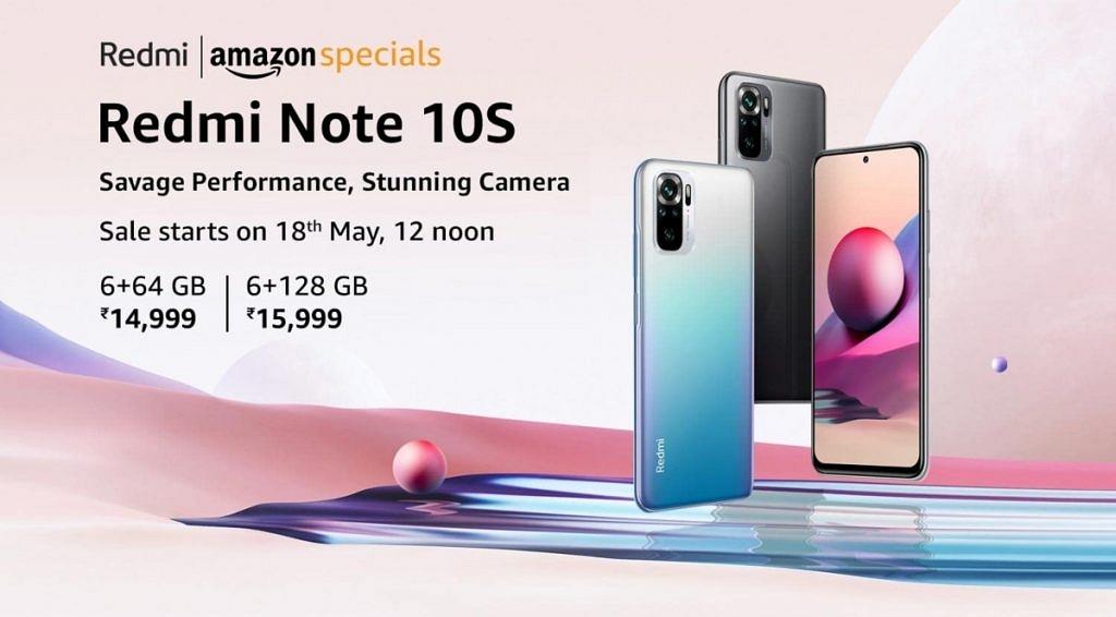 Xiaomi Redmi Note 10S Price in India