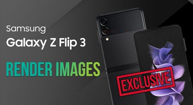 New Samsung Galaxy Z Flip 3 Detailed Render Images