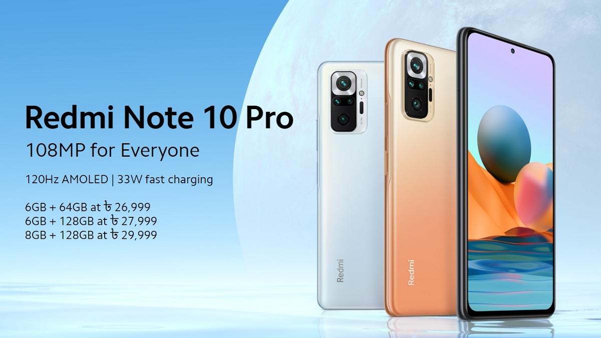 Xiaomi Redmi Note 10 Pro Price in Bangladesh   Specs, Features & More
