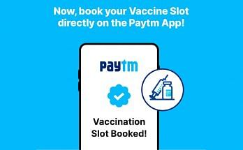 How To Book Vaccine Slot on Paytm