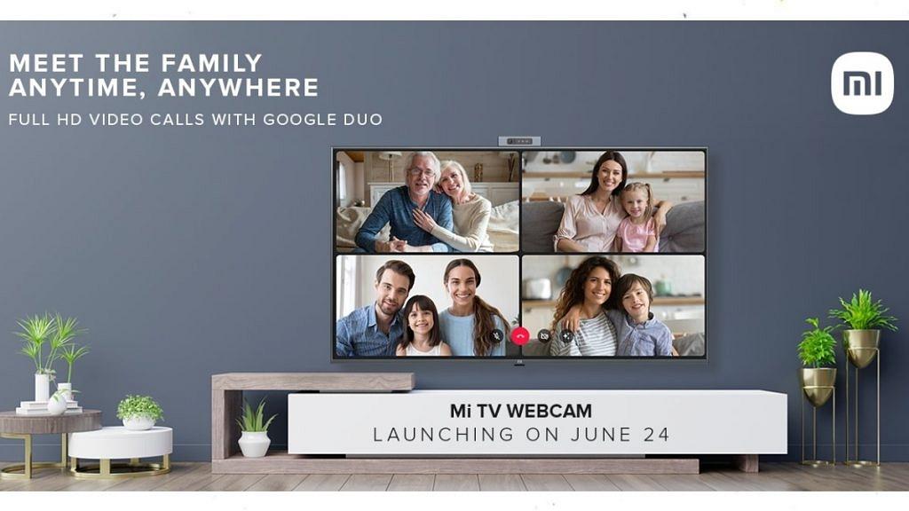 Mi TV Webcam India Launch