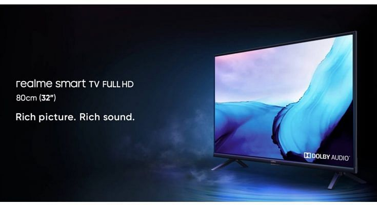 Realme 32-inch Smart FHD TV and Realme Buds Q2 Launched in India