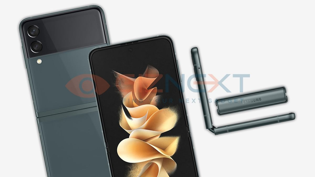 Samsung Galaxy Z Flip 3 Render Images