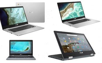 Asus Chromebooks Launched